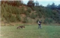 Začátky výcviku, rok 1996 - 1997